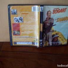 Cine: SAHARA - HUMPREY BOGART - DIRIGIDA POR ZOLTAN KORDA - DVD BLANCO Y NEGRO. Lote 97203703
