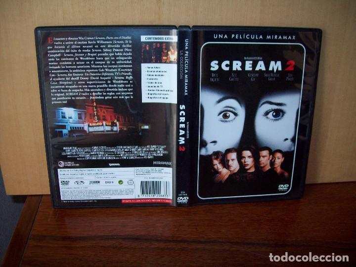 SCREAM 2 -DIRIGIDA POR WES CRAVEN - DVD (Cine - Películas - DVD)