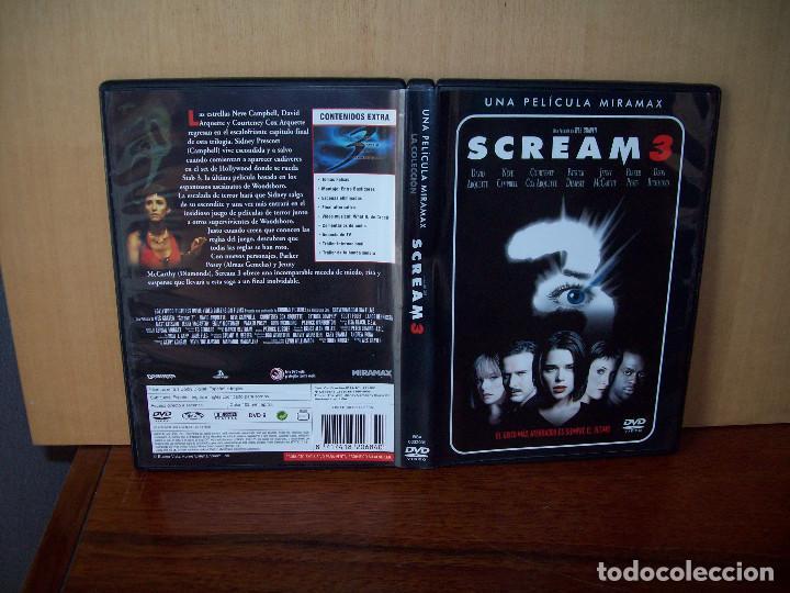 SCREAM 3 -DIRIGIDA POR WES CRAVEN - DVD (Cine - Películas - DVD)