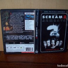 Cine: SCREAM 3 -DIRIGIDA POR WES CRAVEN - DVD. Lote 97209919