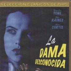 Cine - LA DAMA DESCONOCIDA. DVD-3304 - 97230647