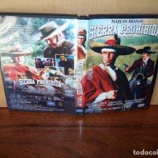 Cine: SIERRA PROHIBIDA - MARLON BRANDO - DIRIGIDA POR SIDNEY J. FURIE - DVD . Lote 97320719
