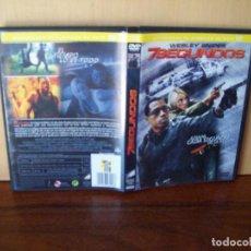 Cinéma: 7 SEGUNDOS - WESLEY SNIPES - DIRIGIDA POR SIMON FELLOWS - DVD EDICION ALQUILER. Lote 97324971