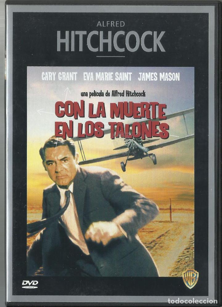 CON LA MUERTE EN LOS TALONES, ALFRED HITCHCOCK 1959 (Cine - Películas - DVD)