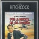 Cine: CON LA MUERTE EN LOS TALONES, ALFRED HITCHCOCK 1959. Lote 97368227