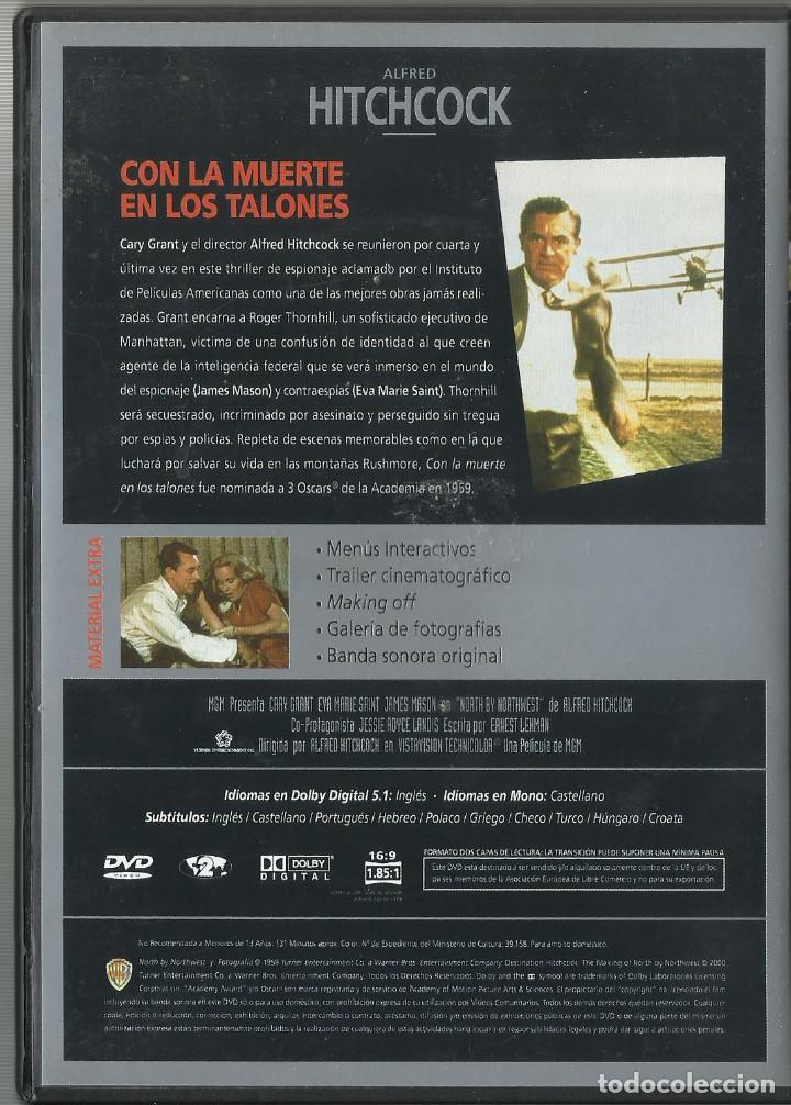 Cine: Con la Muerte en los Talones, Alfred Hitchcock 1959 - Foto 2 - 97368227