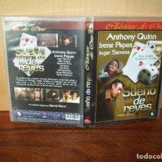Cine: SUEÑO DE REYES - ANTHONY QUINN - IRENE PAPAS - DIRIGIDA POR DANIEL MANN - DVD. Lote 97453295