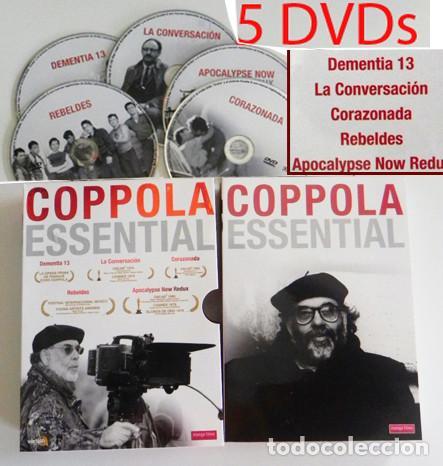 COPPOLA ESSENTIAL DVDS PELÍCULAS REBELDES CORAZONADA LA CONVERSACIÓN DVD PELÍCULA FORD CRUISE BRANDO (Cine - Películas - DVD)