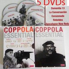 Cine: COPPOLA ESSENTIAL DVDS PELÍCULAS REBELDES CORAZONADA LA CONVERSACIÓN DVD PELÍCULA FORD CRUISE BRANDO. Lote 97483947