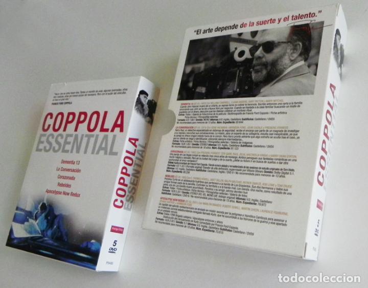 Cine: COPPOLA ESSENTIAL DVDS PELÍCULAS REBELDES CORAZONADA LA CONVERSACIÓN DVD PELÍCULA FORD CRUISE BRANDO - Foto 3 - 97483947