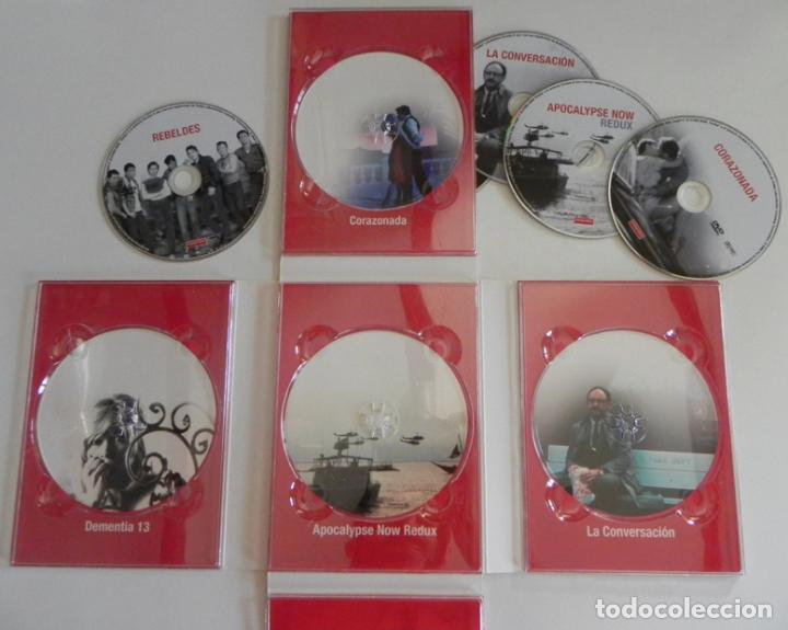 Cine: COPPOLA ESSENTIAL DVDS PELÍCULAS REBELDES CORAZONADA LA CONVERSACIÓN DVD PELÍCULA FORD CRUISE BRANDO - Foto 4 - 97483947