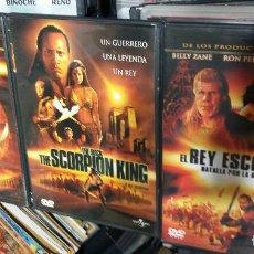 Cine: CINE GOYO - DVD - EL REY ESCORPION SCORPION KING - TRILOGIA - COUTURE - JOHNSON - ZANE- RARA - *AA98. Lote 97537807