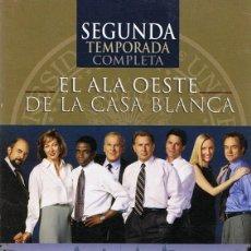 Cine: EL ALA OESTE DE LA CASA BLANCA SEGUNDA TEMPORADA COMPLETA (6 DVD). Lote 97596663