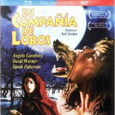 Cine: EN COMPAÑÍA DE LOBOS ANGELA LANSBURY ( EDICIÓN ESPECIAL BLURAY + DVD). Lote 97600367