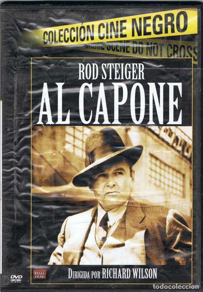 AL CAPONE CON ROD STEIGER Y DIRIGIDA POR RICHARD WILSON (Cine - Películas - DVD)