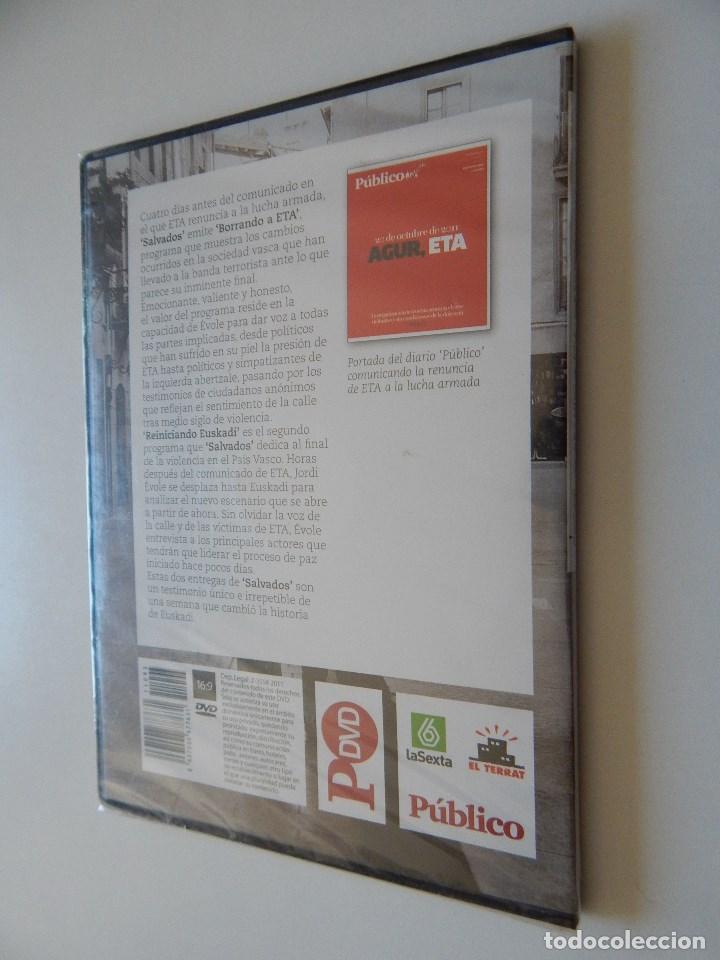 Cine: Borrando a ETA. Reiniciando Euskadi. Las dos entregas del programa sobre el fin de l... - Precintado - Foto 2 - 97786026