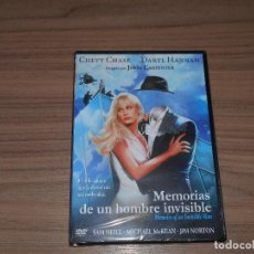 Cine: MEMORIAS DE UN HOMBRE INVISIBLE DVD DE JOHN CARPENTER SAM NEIL NUEVA PRECINTADA. Lote 295744893