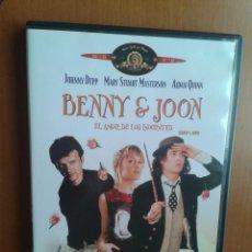 Cine: CINE DVD PELICULA BENNY & JOON. Lote 97902511
