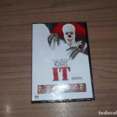 Cine: IT (ESO) DVD DE STEPHEN KING TERROR NUEVA PRECINTADA WARNER. Lote 98851071