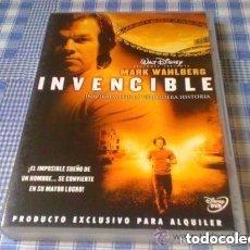 Cine: INVENCIBLE - PELÍCULA EN DVD - CINE DE DRAMA DEPORTES DISNEY. Lote 97970443