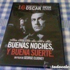 Cine: BUENAS NOCHES, Y BUENA SUERTE - PELÍCULA EN DVD - CINE DE DRAMA TV PERIODISMO PRECINTADA. Lote 97970447