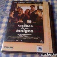 Cine: LAS RAZONES DE MIS AMIGOS (2000) PELÍCULA EN DVD - CINE DE DRAMA AMISTAD NUEVA Y PRECINTADA. Lote 97970463