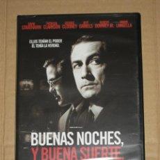 Cine: (SIN ABRIR) BUENAS NOCHES Y BUENA SUERTE. Lote 98009155