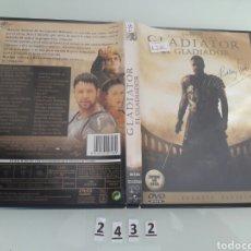 Cine: GLADIATOR DVD . Lote 98038143