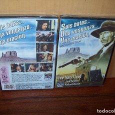 Cine: SEIS BALAS...UNA VENGANZA..UNA ORACION - LEE VAN CLEEF - DIRIGIDA POR FRANK KRAMER -DVD NUEVO PR. Lote 98056791