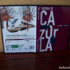 Cine: SIERRA DE CAZORLA -DVD DOCUMENTAL EDICION PERIODICO. Lote 98056879