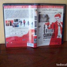 Cine: SOLO QUIERO CAMINAR - VICTORIA ABRIL - DIRIGIDA POR AGUSTIN DIAZ YANES - DVD EDICION ALQUILER. Lote 98056967