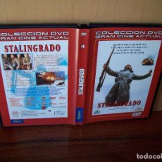 Cine: STALINGRADO - DOMINIQUE HORWITZ - THOMAS KRETSCHMANN -DE JOSEPH VILSMAIER - DVD. Lote 98057247