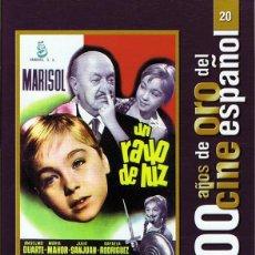 Cine: DVD UN RAYO DE LUZ MARISOL. Lote 98079819