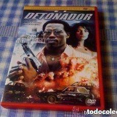 Cine: EL DETONADOR (2006) - PELÍCULA EN DVD - CINE DE ACCIÓN THRILLER EN ESTADO ACEPTABLE. Lote 98083635