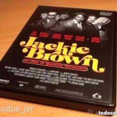 Cine: JACKIE BROWN 1997 QUENTIN TARANTINO CINE DE THRILLER DRAMA PELÍCULA EN DVD BUEN ESTADO. Lote 98083663