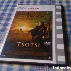 Cine: TSOTSI (2005) PELÍCULA EN DVD CINE DE DRAMA CRIMEN DIARIO PÚBLICO. Lote 98083671