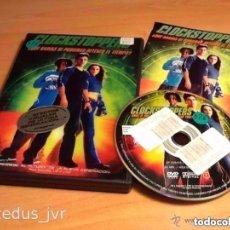 Cine: CLOCKSTOPPERS PELÍCULA DE CIENCIA FICCIÓN EN DVD EN BUEN ESTADO. Lote 98084479