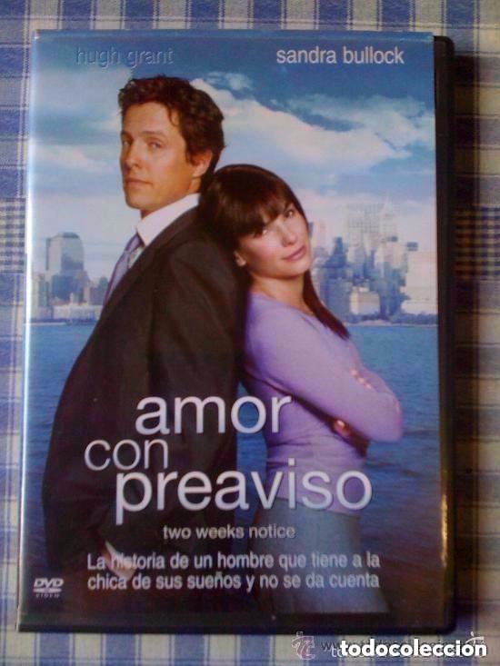 Amor Con Preaviso Película En Dvd Comedia Rom Comprar Películas