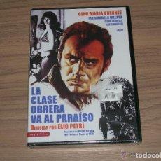 Cine: LA CLASE OBRERA VA AL PARAISO DVD GIAN MARIA VOLONTE NUEVA PRECINTADA. Lote 295626668