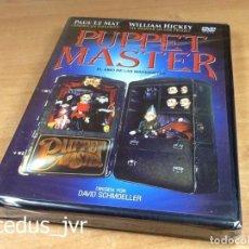 Cine - Puppet Master El Amo de las Marionetas Película en DVD Nuevo y Precintado - 98250891