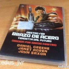 Cine: DESTROYER BRAZO DE ACERO VENDETTA DEL FUTURO PELÍCULA EN DVD NUEVO Y PRECINTADO. Lote 98355463