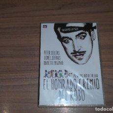 Cine: EL HONRADO GREMIO DEL ROBO DVD PETER SELLERS NUEVA PRECINTADA. Lote 182850816