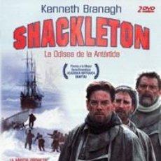 Cine: SHACKLETON:LA ODISEA DE LA ANTÁRTIDA (TV) (2002) AVENTURAS. DRAMA | BIOGRÁFICO DE MI COLECCION(SLIM). Lote 98405667