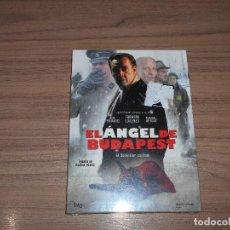 Cine: EL ANGEL DE BUDAPEST DVD EL SCHINDLER ESPAÑOL NUEVA PRECINTADA. Lote 98851028