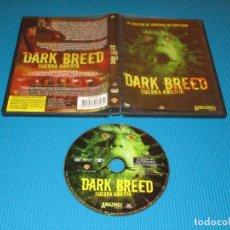 Cine: DARK BREED ( GUERRA ABIERTA ) - DVD - EDICION Z4 F3627 - WB - LA COSECHA DE HUMANOS HA EMPEZADO. Lote 98499075