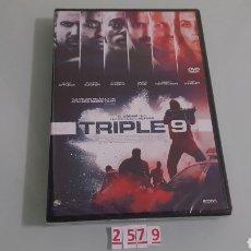 Cine: TRIPLE 9 (DVD NUEVO PRECINTADO). Lote 98515815