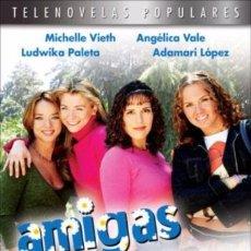 Cine: AMIGAS Y RIVALES TELENOVELA - MICHELLE VIETH , LUDWIKA PALETA, ADAMARI LOPEZ, 4 DVD'S NUEVOS. Lote 98516875
