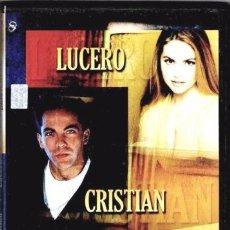 Cine: CRISTIAN / LUCERO - ENCUENTROS MUSICALES DVD NUEVO. Lote 98516883