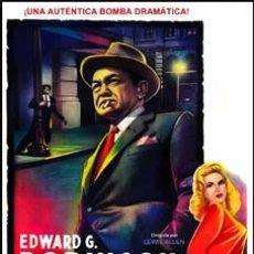 Cine: ILEGAL - EDWARD G. ROBINSON, NINA FOCH DVD NUEVO. Lote 98517031