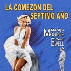 Cine: LA COMEZON DEL SEPTIMO AÑO - MARILYN MONROE,TOM EWELL,EVELYN KEYES DVD NUEVO. Lote 98517071
